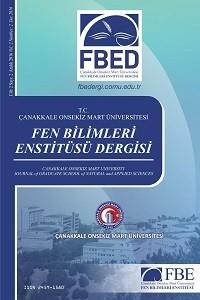 Çanakkale Onsekiz Mart Üniversitesi Fen Bilimleri Enstitüsü Dergisi