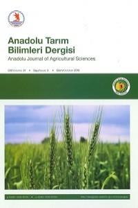 Anadolu Journal of Agricultural Sciences