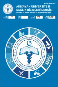 Adıyaman Üniversitesi Sağlık Bilimleri Dergisi