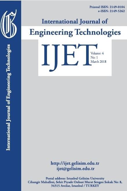 International Journal of Engineering Technologies IJET