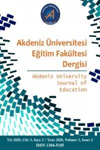 Akdeniz Üniversitesi Eğitim Fakültesi Dergisi
