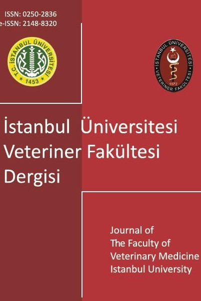 Journal of The Faculty of Veterinary Medicine Istanbul University