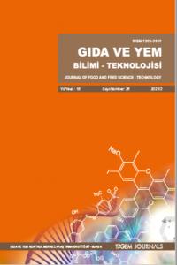 Gıda ve Yem Bilimi Teknolojisi Dergisi