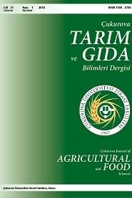 Çukurova Tarım ve Gıda Bilimleri Dergisi