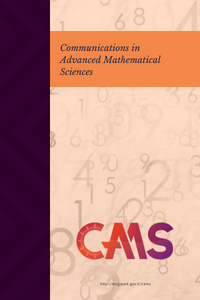 Communications in Advanced Mathematical Sciences