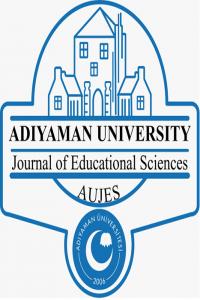 Adıyaman Üniversitesi Eğitim Bilimleri Dergisi