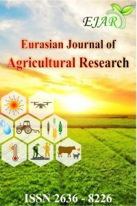 Eurasian Journal of Agricultural Research