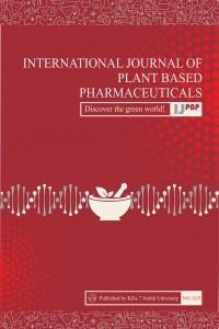 International Journal of Plant Based Pharmaceuticals