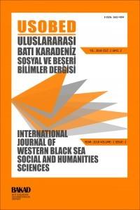 Uluslararası Batı Karadeniz Sosyal ve Beşeri Bilimler Dergisi