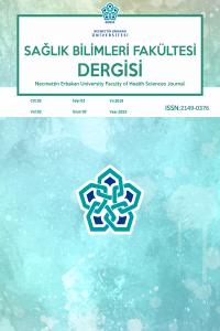 Necmettin Erbakan Üniversitesi Sağlık Bilimleri Fakültesi Dergisi