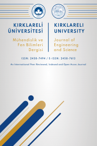Kirklareli University Journal of Engineering and Science