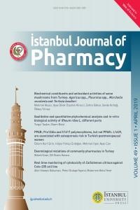 İstanbul Journal of Pharmacy