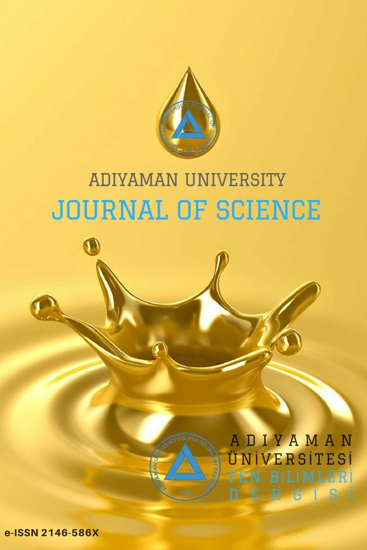Adıyaman University Journal of Science