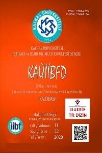 Kafkas Üniversitesi İktisadi ve İdari Bilimler Fakültesi Dergisi