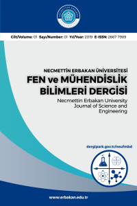 Necmettin Erbakan University Journal of Science and Engineering