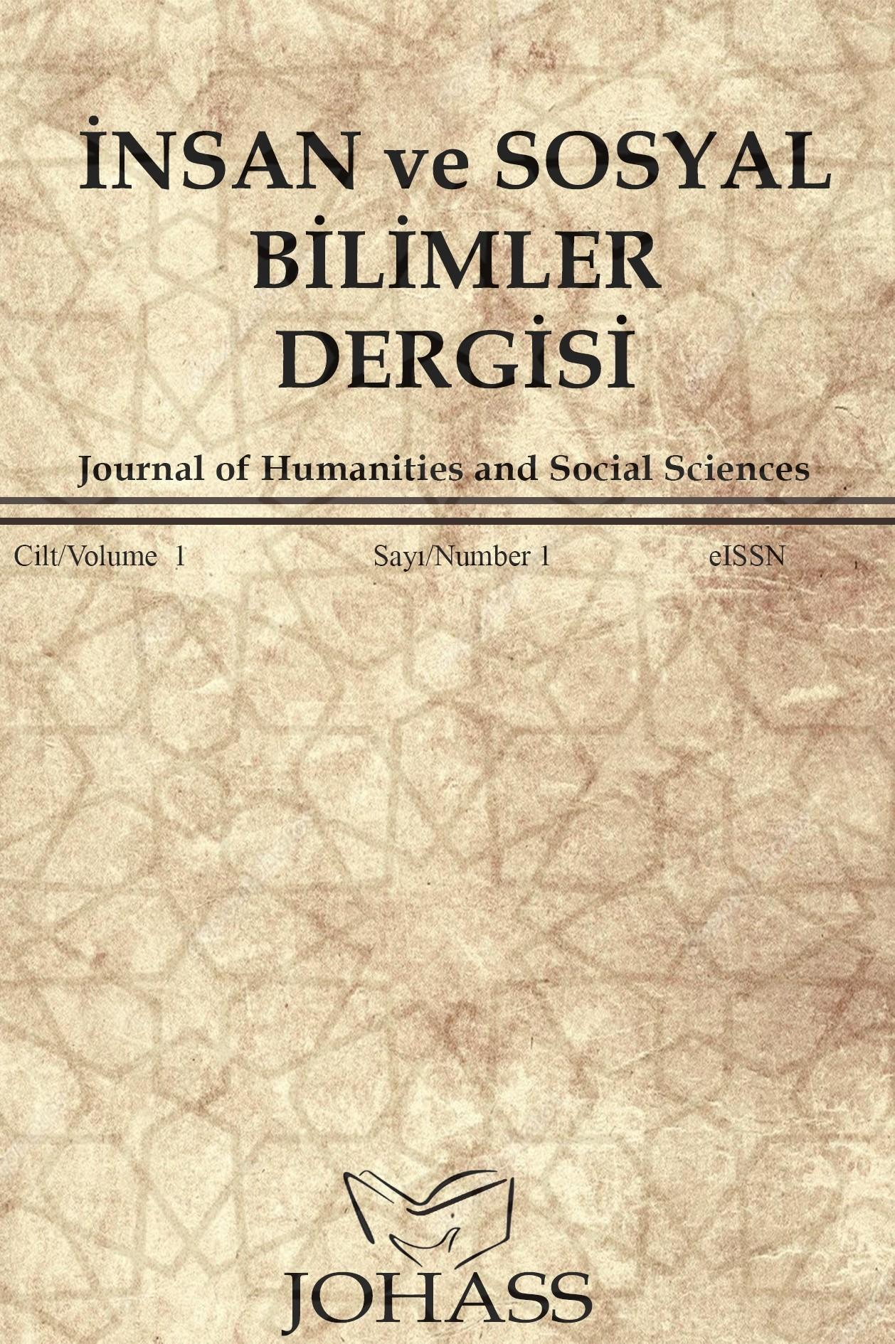 İnsan ve Sosyal Bilimler Dergisi