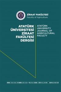 Atatürk University Journal of  Agricultural Faculty
